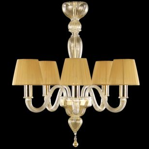 Multiforme / Chapeau LP0360-5-KA-MC / Chandelier