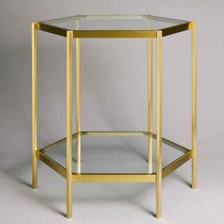 Charles Paris / Side Table / Hexagone 6486-0