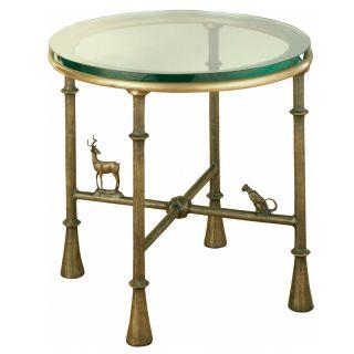 Corbin Bronze / Antelope / Side Table