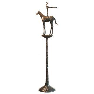 Tom Corbin / Author's sculpture / Horse and Rider II S1145