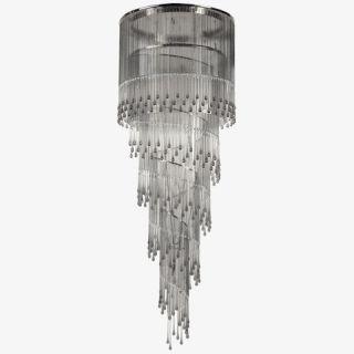Multiforme / Dancer SS7651-75x215-DN / Ceiling lamp