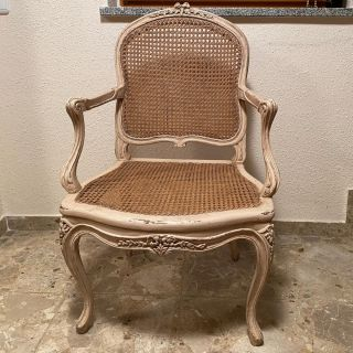 Massant / Armchair / Reproduction of antique model. Louis XV Blanchard - Showroom sample