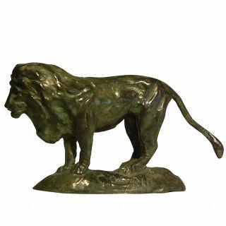 Tom Corbin / Author's sculpture / Lion S3050