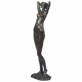 Tom Corbin / Author's sculpture / Woman Stretching S2061