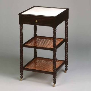 Vaughan / Side Table / French Cane FT0049.BK