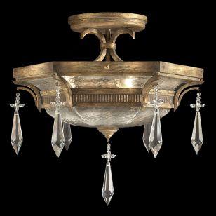 Fine Art Lamps / Semi-Flush Mount / 569840ST