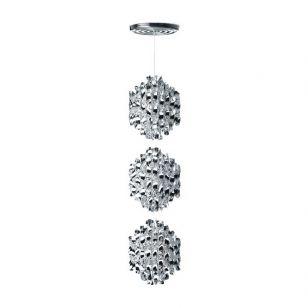Verpan / Hanging Lamp / Spiral SP3 (Silver)
