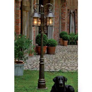 Robers / Outdoor 3-lighter Post Lamp / AL 6538