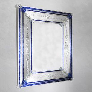 Glass & Glass Murano / Murano wall mirror / ART. MIR 190