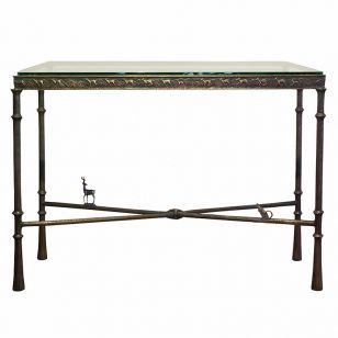 Corbin Bronze / Antelope / Console Table