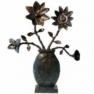 Tom Corbin / Author's sculpture / Flower Study S9015