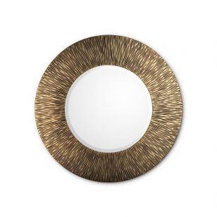 Christopher Guy / Portal wall mirror Gold Ø124cm / Showroom sample
