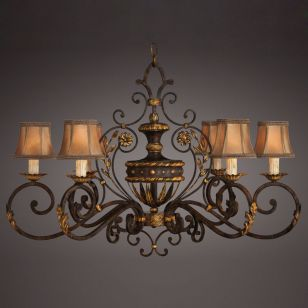 Fine Art Lamps / Chandelier / 218540ST