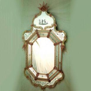Fratelli Tosi / Venetian wall mirror / 1013