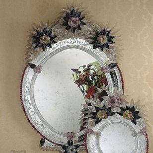 Fratelli Tosi / Venetian wall mirror / 1076