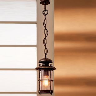 Robers / Outdoor Suspension Lamp with chain / HL 2446-A