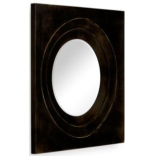 Jonathan Charles / Wall Mirror / 494772-B (Bronze)