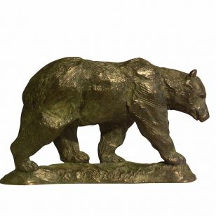 Tom Corbin / Author's sculpture / Bear S3045
