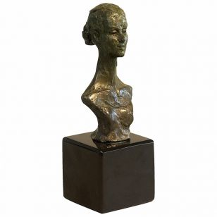 Tom Corbin / Author's sculpture / Dancer's Bust SM002