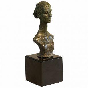 Tom Corbin / Author's sculpture / Dancer's Bust SM002