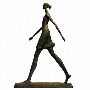 Tom Corbin / Author's sculpture / Female Walking S1200