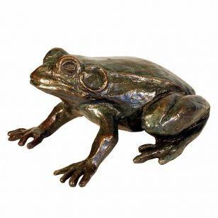 Tom Corbin / Author's sculpture / Frog S3015