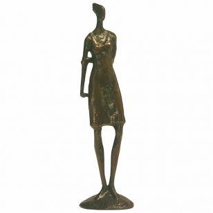 Tom Corbin / Author's sculpture / Girl Waiting SM010