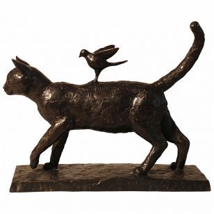 Tom Corbin / Author's sculpture / Good Kitty S1687