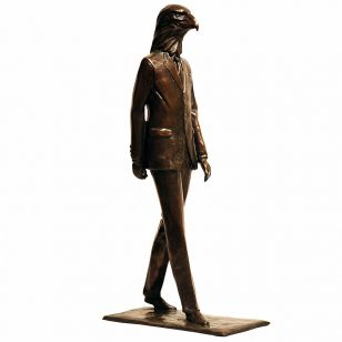 Tom Corbin / Author's sculpture / Hiero-Man S2320