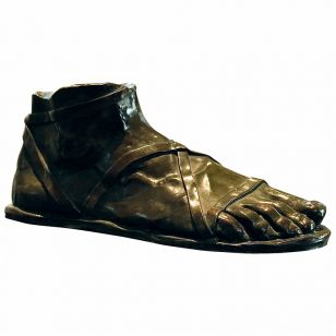 Tom Corbin / Author's sculpture / Roman Foot S2085