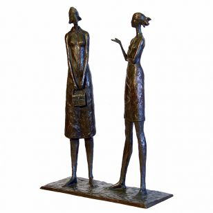 Tom Corbin / Author's sculpture / The Conversation S1060
