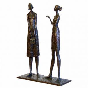Tom Corbin / Author's sculpture / The Conversation S1060
