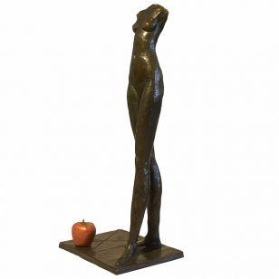 Tom Corbin / Author's sculpture / Torso with Apple S1329