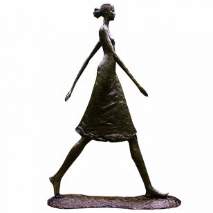 Tom Corbin / Author's sculpture / Woman Walking Tall S1023