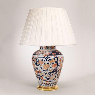 Vaughan / Table LED Lamp / Red and Blue Imari Vase TC0075