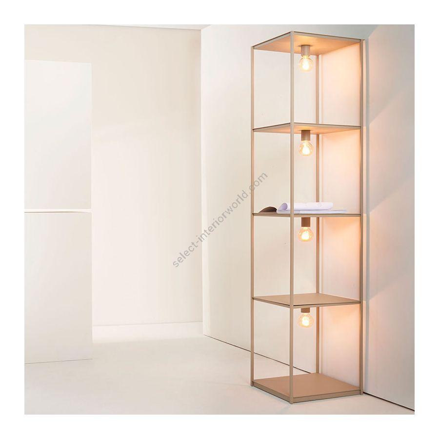 Bookcase-lamp / Sahara finish
