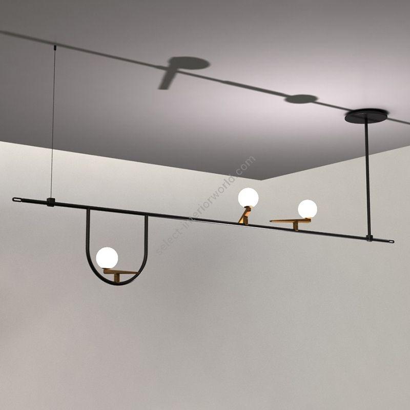 Artemide / Suspension LED Lamp / Yanzi 1104010A
