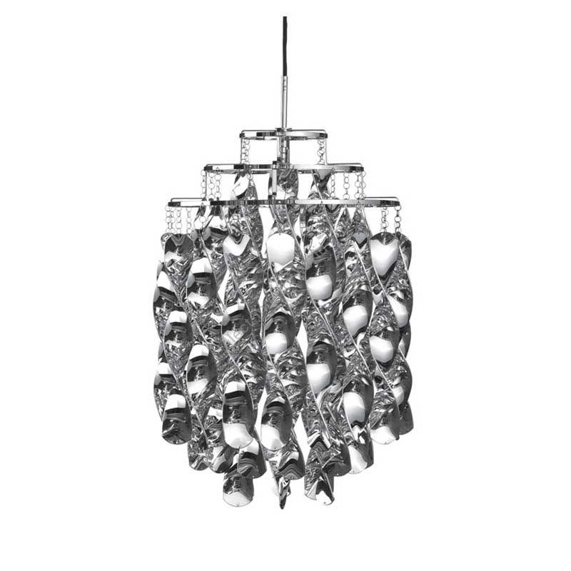 Verpan / Pendant Lamp / Spiral Mini (Silver)