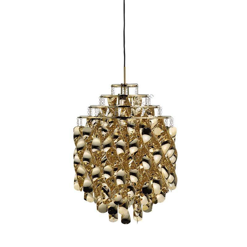 Verpan / Pendant Lamp / Spiral SP01 (Gold)