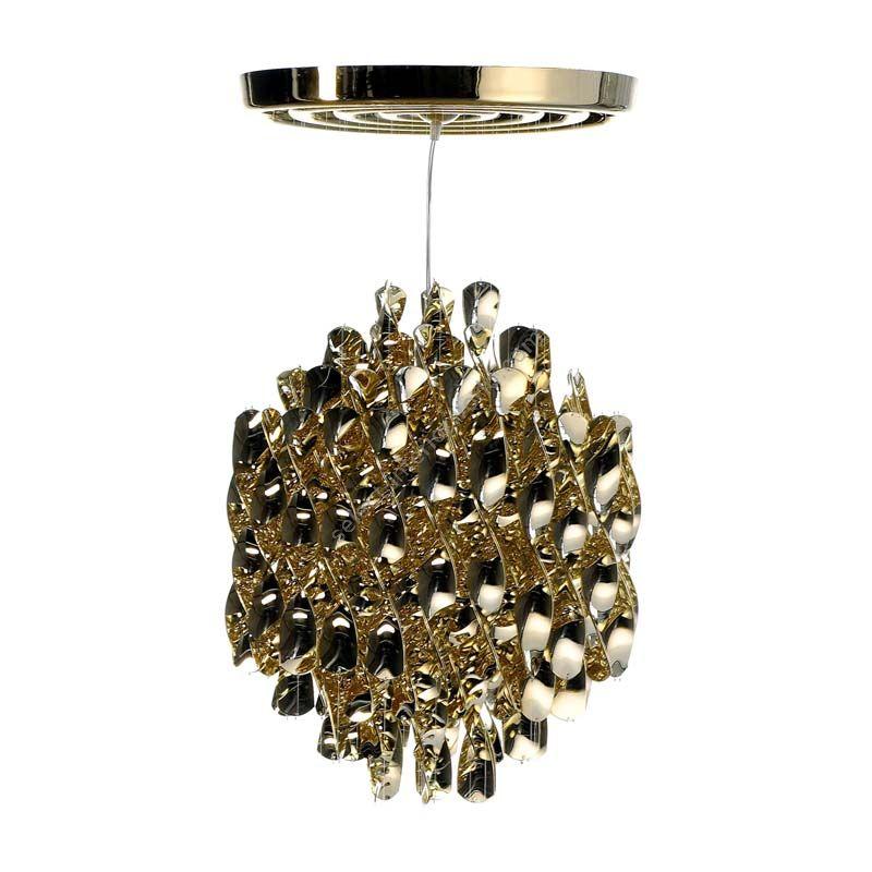 Verpan / Hanging Lamp / Spiral SP1 (Gold)