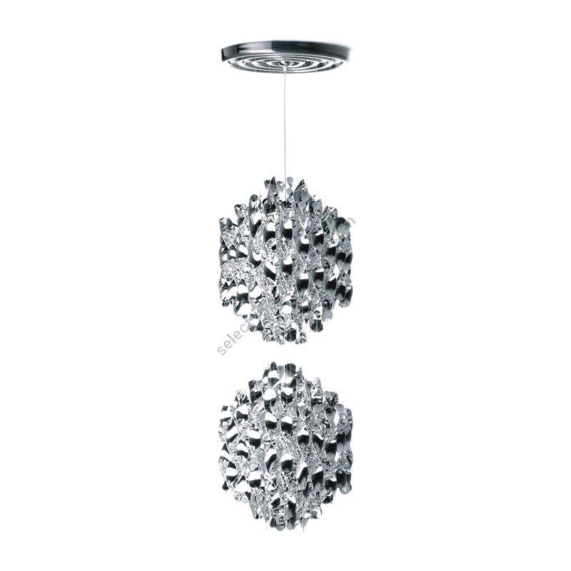 Verpan / Hanging Lamp / Spiral SP2 (Silver)