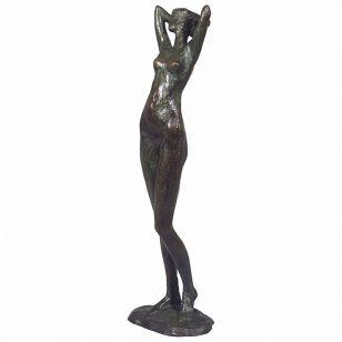 Tom Corbin / Skulptur / Woman Stretching S2061