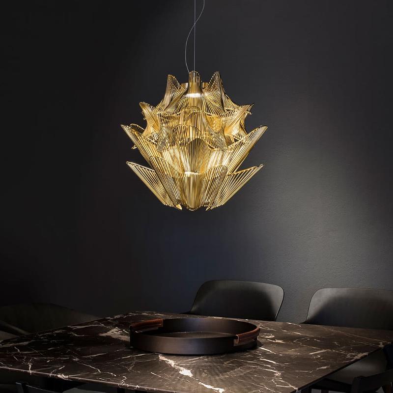 Terzani / Suspension LED lamp / Moiré M1S L6
