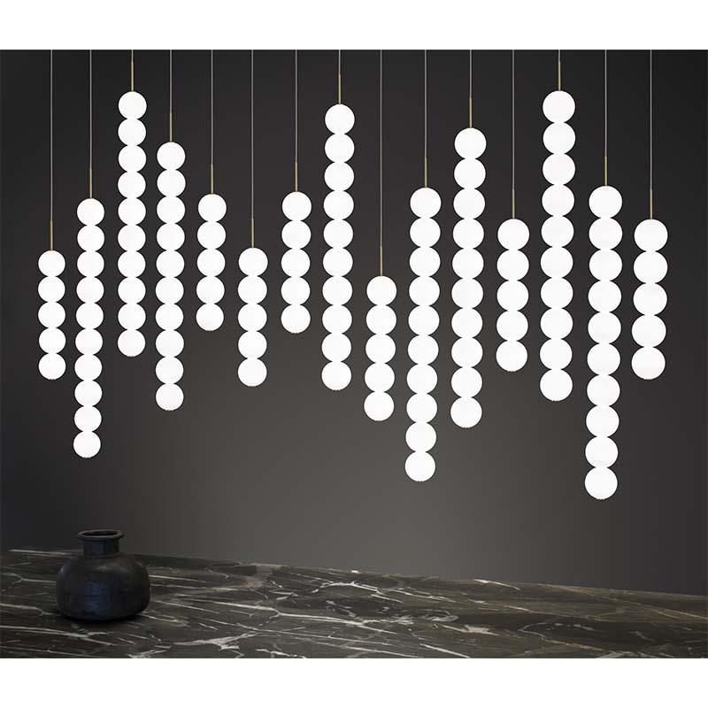 "15 lights (cm.: 190 (H1/100+H2/90) х 175 х 17 / inch.: 74.8"" (H1/39.3""+H2/35.43"") х 68.9"" х 6.6"")"