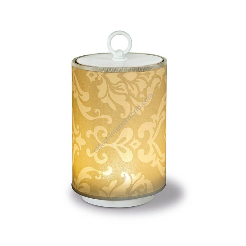 Royal Avoriofabric lampshade