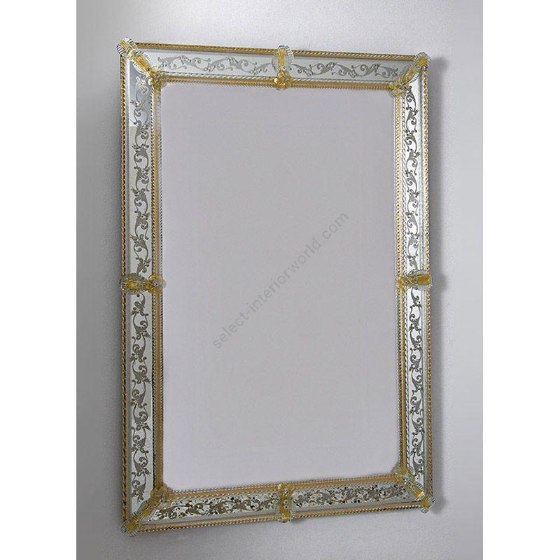 Buy Glass Glass Murano Murano Wall Mirror Art Mir 330 Online Price Start From 1 645 00