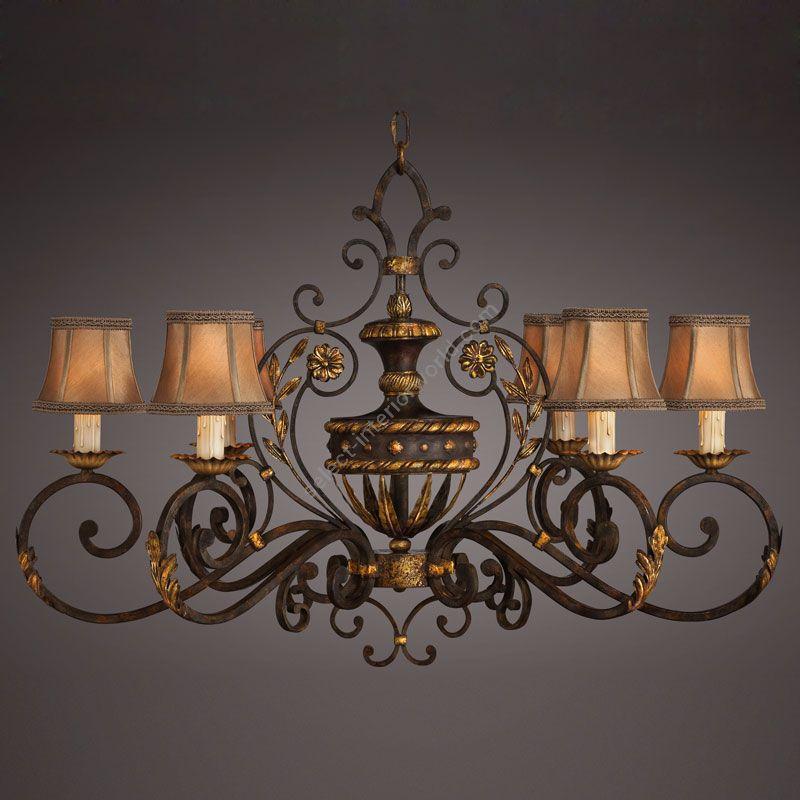 Fine Art Lamps / Chandelier / 218540ST